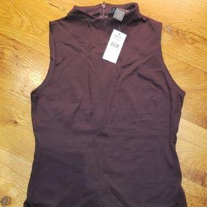 NWT Banana Republic Sleeveless Shirt Size Small